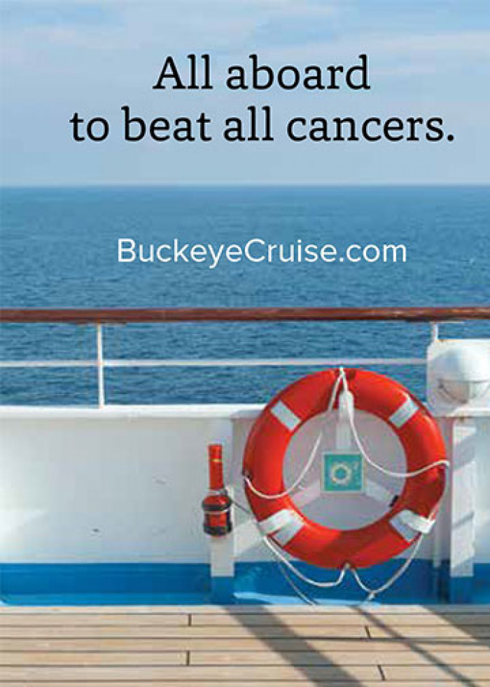 Buckeye Cruise for Cancer Fund-a-need cover page